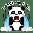 Mojo, the lazy, ridiculous panda