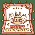 ○○誕生日おめでとう!名前&年齢カスタム