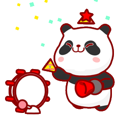 かわいいパンダ PUPU。