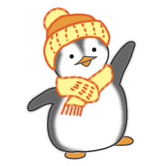 可愛すぎるペンギンちゃん(年末年始)