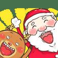 Santa and Reindeer!
