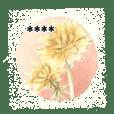 gentle colored flowers custom 5