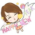 Angela Baby say Happy new year 2020