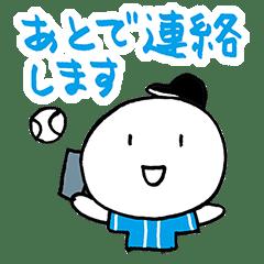 使える草野球 黒/青/白