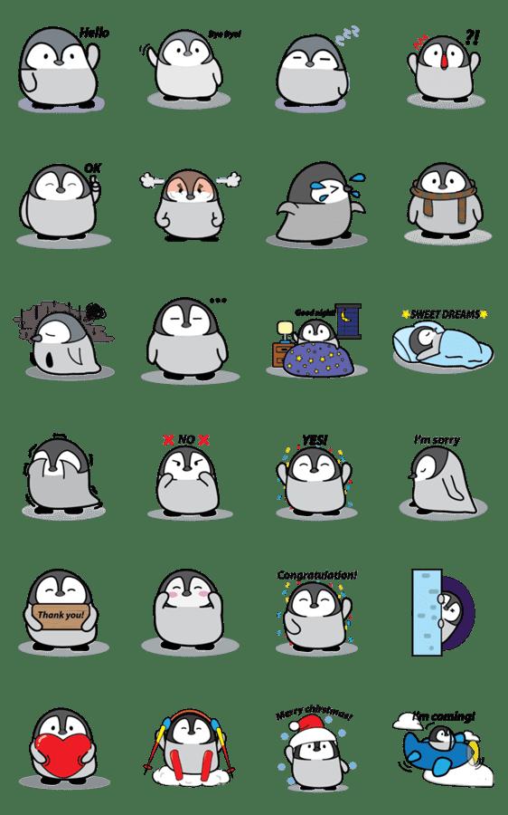 「Tofu the penguin」のLINEスタンプ一覧