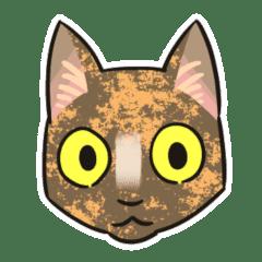 【修正版】サビ猫のスタンプ
