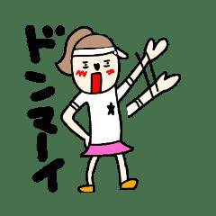 恋するテニスの女の子3