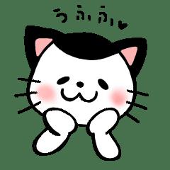 カツラの模様の猫 カツラさんスタンプ