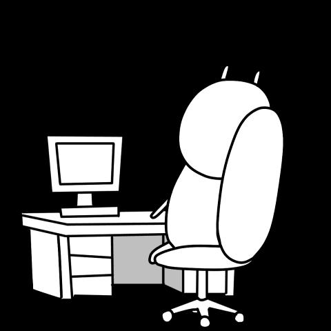 Jay the Rabbit: Office Lady Pop-Ups