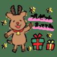 Merry Xmas stickers