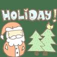 Merry Christmas & New Year Santa Pomoto