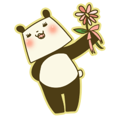 まつ毛パンダ【日常】