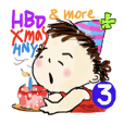 Happy Suzi #3 : HBD-X'mas-HNY&more