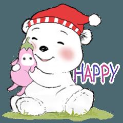 北極熊棉花球系列12-日常用語(冬)