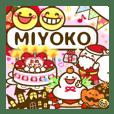 "Annual events stickers""MIYOKO"""