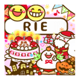 """Annual events stickers""""RIE"""""""