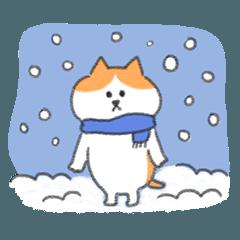 Cat's Freddy Winter Life