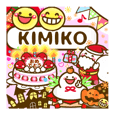"Annual events stickers""KIMIKO"""
