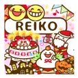 "Annual events stickers""REIKO"""