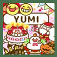 "Annual events stickers""YUMI"""