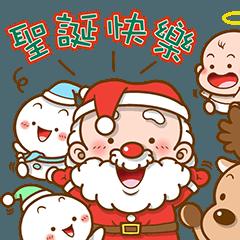 聖誕老公公與雪球的夥伴們