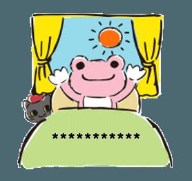 pickles the frog message Emoji-1 | Yabe-LINE貼圖代購 | 台灣No.1 ...