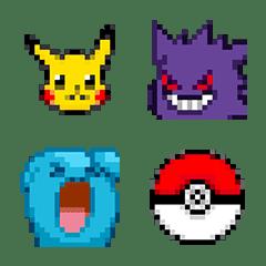 อิโมจิไลน์ Pokémon อิโมจิ