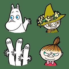 Moomin 表情貼