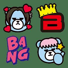 อิโมจิไลน์ KRUNK × BIGBANG Emoji