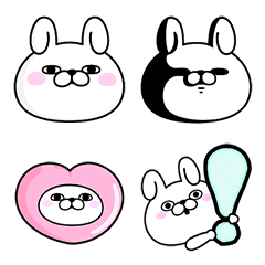 Rabbit100% อิโมจิ
