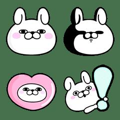 Rabbit100% 表情貼
