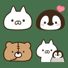 penguin and cat days 表情貼