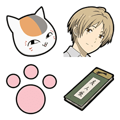 อิโมจิไลน์ Natsume's Book of Friends Emoji