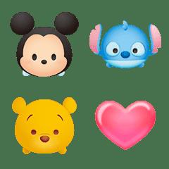 Disney Tsum Tsum อิโมจิตัวละครในใจคุณ