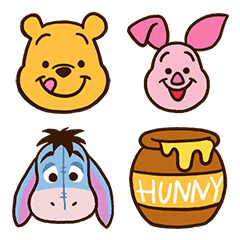 cb22c38efb0f Winnie the Pooh Emoji – LINE Emoji