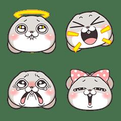 อิโมจิไลน์ Very Miss Rabbit Emoji