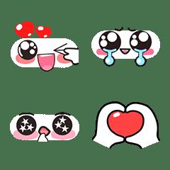 อิโมจิไลน์ Cute Faces Emoji