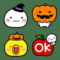 Shiromaru Halloween Emoji