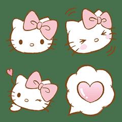 Hello Kitty 表情貼(粉紅篇)