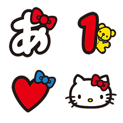 Hello Kitty Letter Emoji