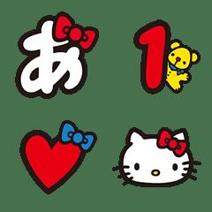 อิโมจิไลน์ Hello Kitty Letter Emoji