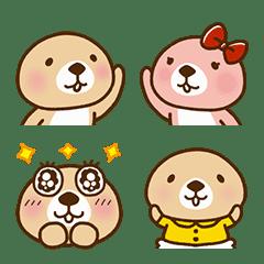 อิโมจิไลน์ อิโมจิน่ารักของ Rakko-san