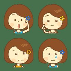 Pretty girl emoji