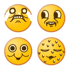 Replying with funny faces – LINE Emoji | LINE STORE