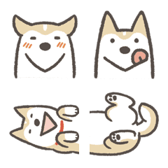 Shiba Inu (Shiba-Dog) emoji
