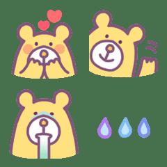 Yellow Bear Emoji