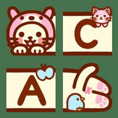 The long cat's Emoji (English)