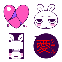Yandere heart rabbit
