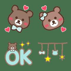 巧克力薄荷和熊表情符號