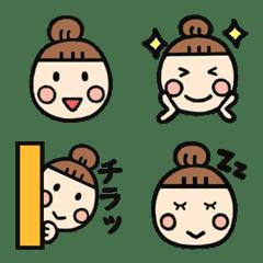 Cute mam's Emoji